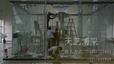 玻璃展厅制作