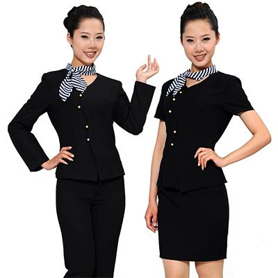 长短袖职业套装