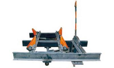 双轨复式阻车器
