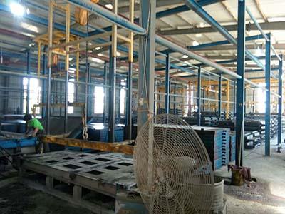 温氏集团漏粪板设备生产线