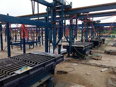 新乡漏粪板设备生产线