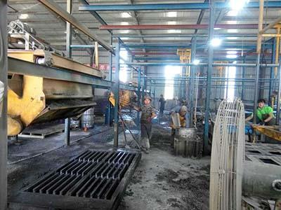 水泥漏粪板设备生产线
