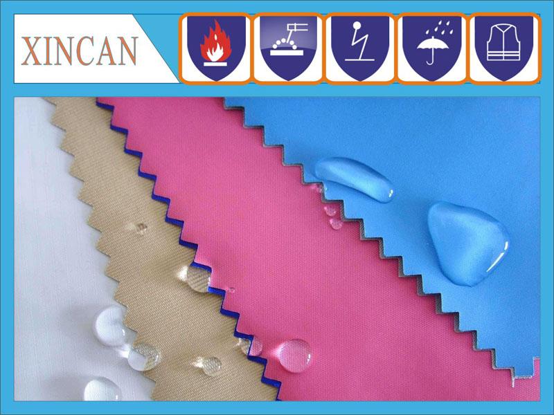 TC涤棉防酸碱面料, 耐酸碱斜纹涤卡布 ,抗酸碱斜纹布料