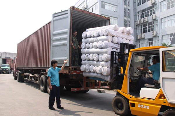 防紫外布料運輸發貨