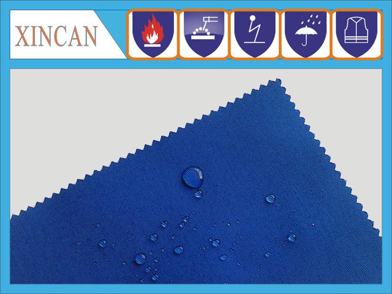 TC20x16涤棉抗油拒水面料 230g防油布防水布
