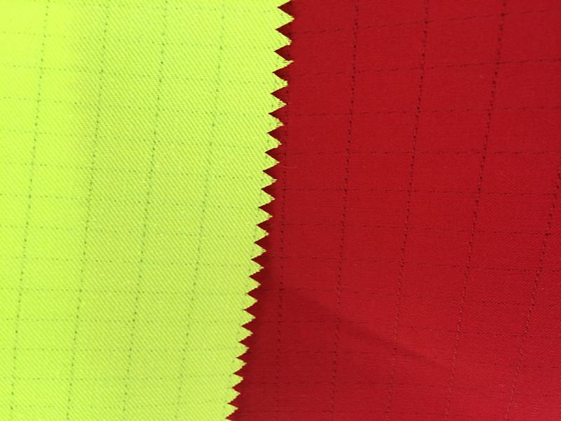 防静电斜纹、防静电线卡、涤棉工装布