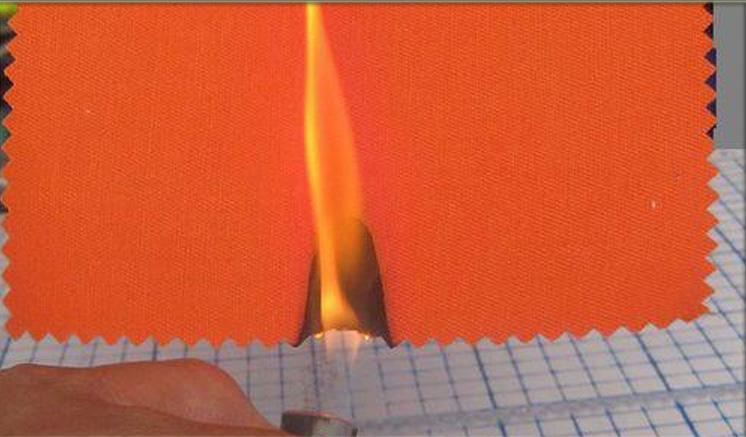 阻燃布面料色牢度检测方法