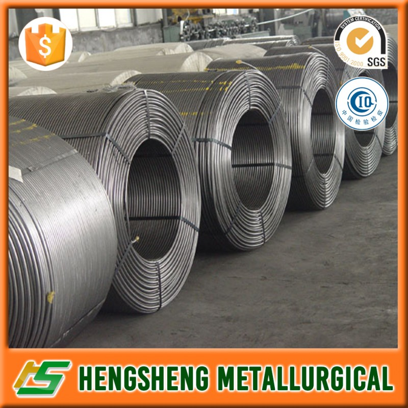 Seamless Calcium Metal Cored Wire