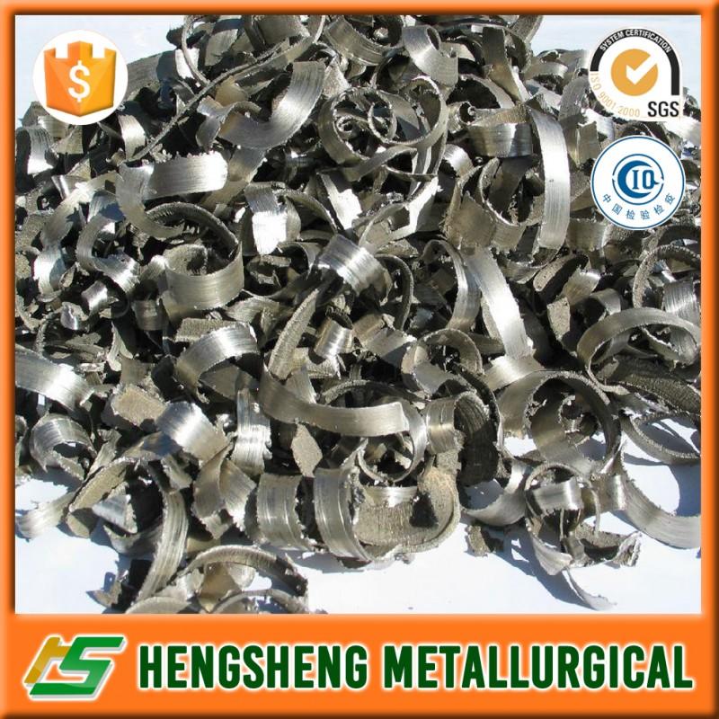 Calcium Metal Turning