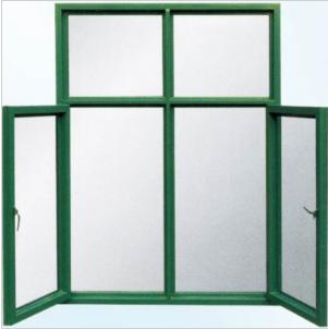钢质平开式防火窗
