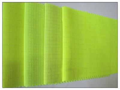 熒光布,熒光面料,防靜電熒光工裝面料
