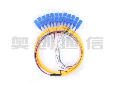 12芯束状尾纤-SC/UPC