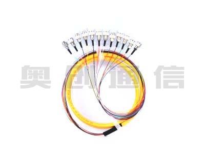 12芯束状尾纤-FC/UPC