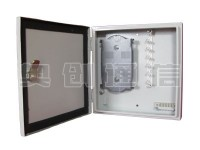 光缆分纤箱-钣金材质-6芯