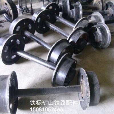 铸钢矿车轮