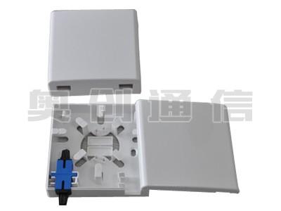 MBX-7光纤信息盒-SC型-86×86×26