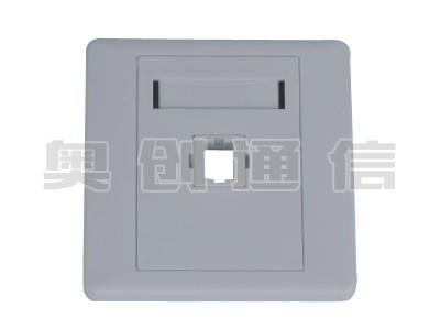 MBX-3-光纤面板-单口
