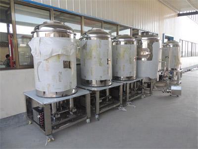 啤酒设备的酿造过程大揭秘