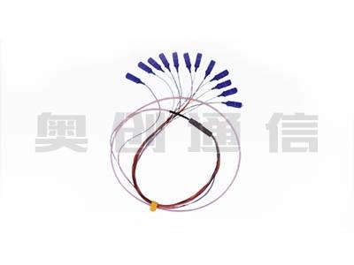 12芯带状尾纤SC/UPC