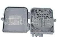 光缆分纤箱-塑料材质-12芯-260×300×90