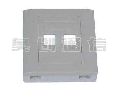 MBX-1-光电信息盒-两光两电-86×86×26