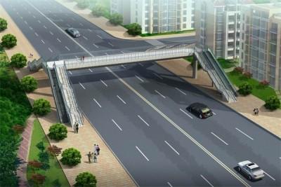 郑州建设西路过街天桥