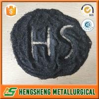 black silicium carbide