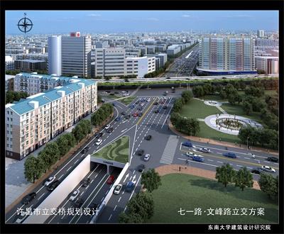许昌市七一路文峰路立交(隧道)工程