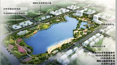 新乡定国湖生态水系工程