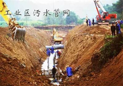 工业区污水管网
