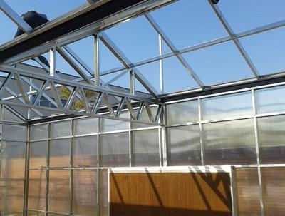 陽光板溫室細節展示