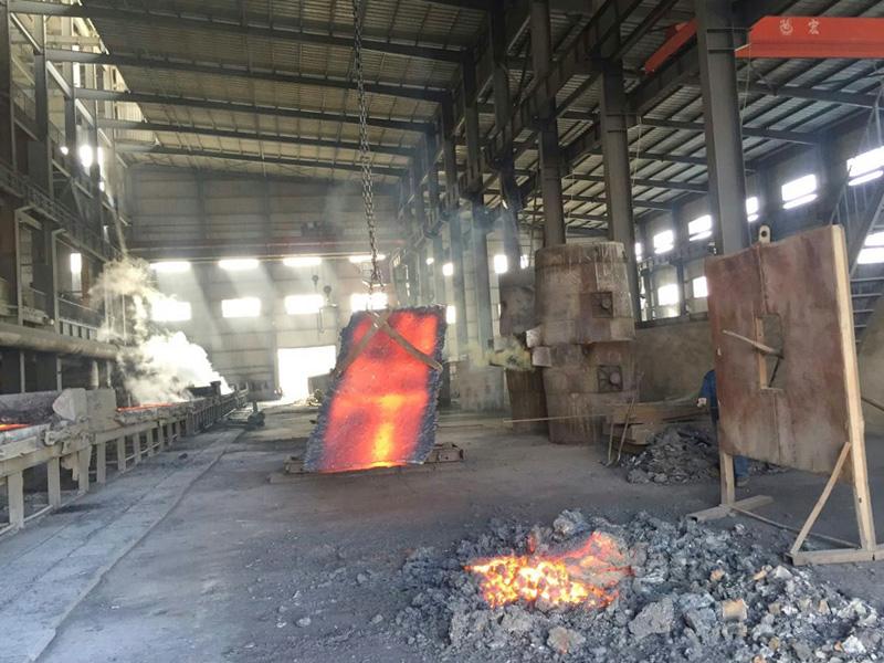 硅铁生产厂房、设备