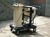 高固體物含量濾油機