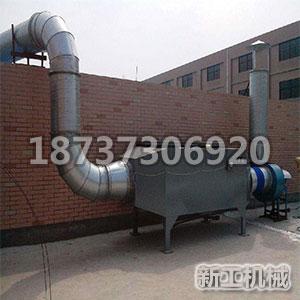 印刷設備廢氣處理
