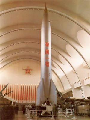 """1960年11月5日,中国仿制的苏联""""P-2""""导弹首次发射试验获得成功"""