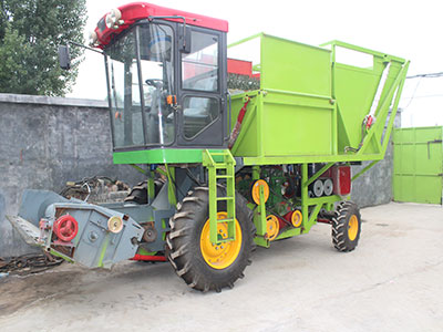 小麦牧草青储机