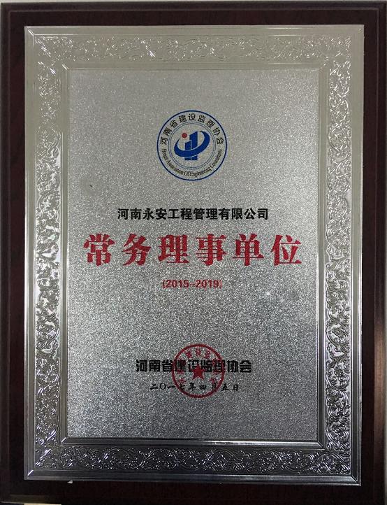 河南省建设监理协会常务理事单位