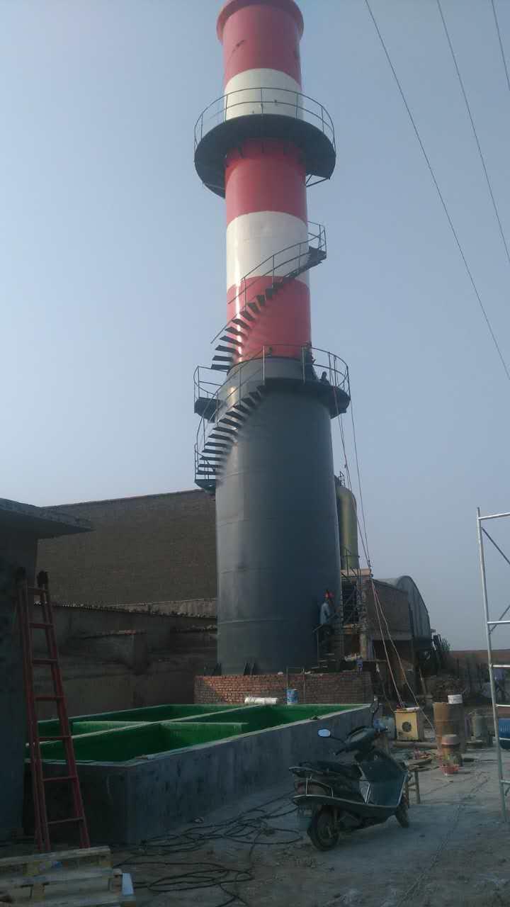 大型防腐脱硫塔