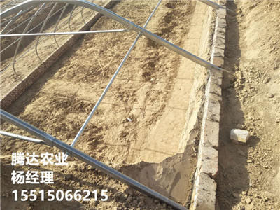 冬暖土坑温室