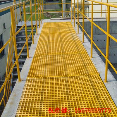 玻璃钢化工厂专用防腐格栅/50*50