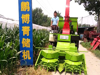 大型玉米青储机