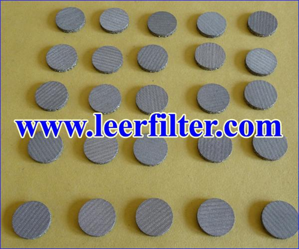 Sintered Circular Filter Disc