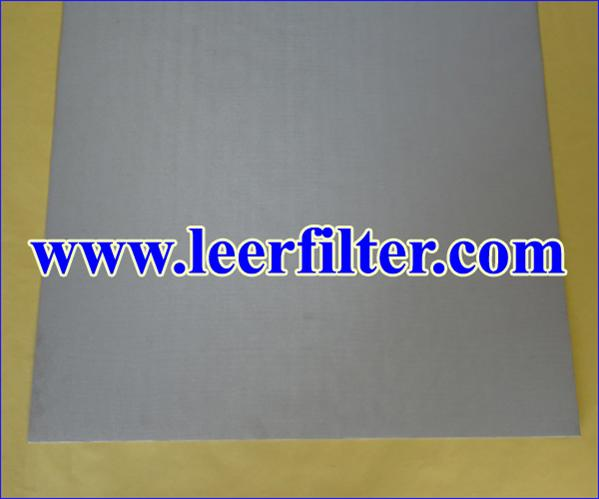 Sintered Porous Filter Plate