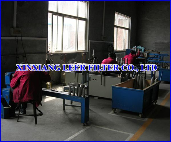 Sintered Filter Element Manufacture