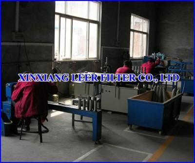 Sintered Filter Element Manufacture