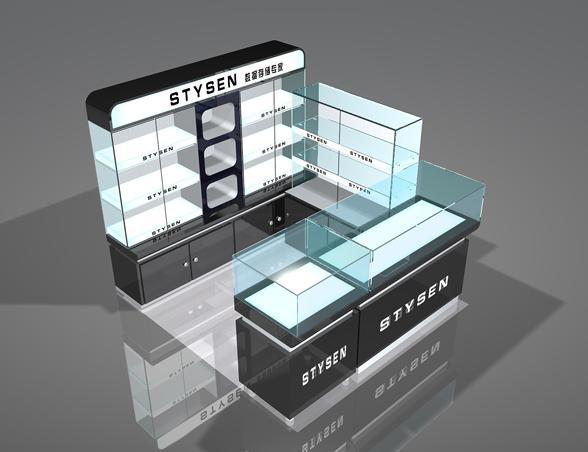 數碼產品展櫃