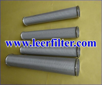 Cylindrical Metal Filter Cartridge