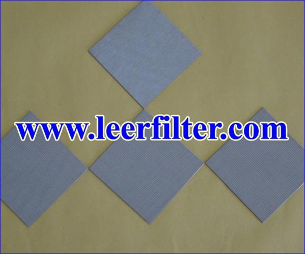 Sintered Metal Filter Sheet