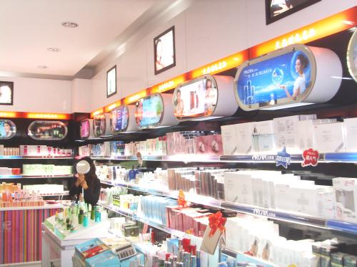 化妝品背櫃展櫃