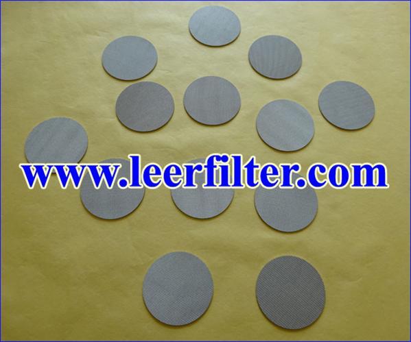 Sintered Metal Filter Disk